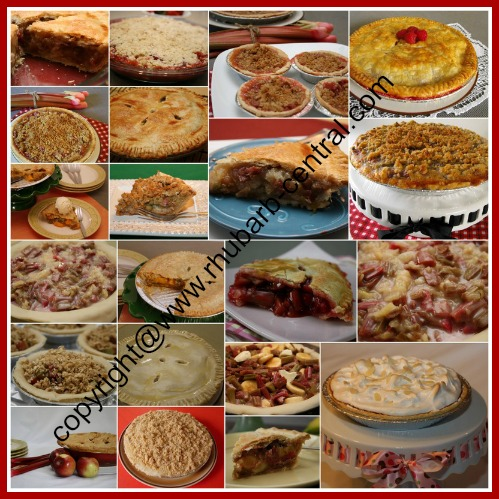 Rhubarb Pie Recipes Best Homemade Pies Collage images