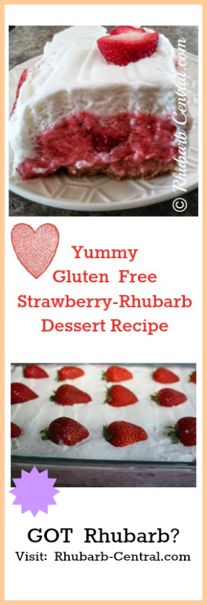 Gluten Free Rhubarb Recipe for Dessert