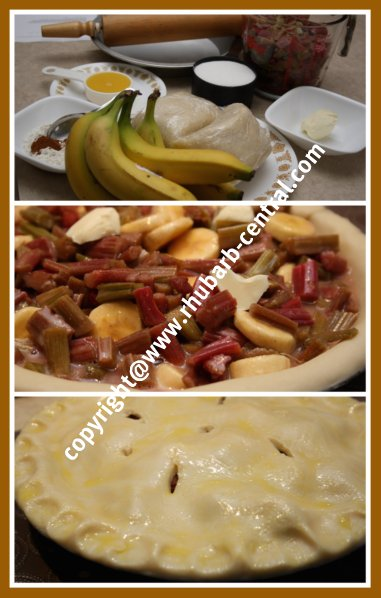How To Make Rhubarb Banana Pie