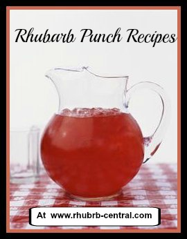 Picture of Homemade Rhubarb Punch Recipe