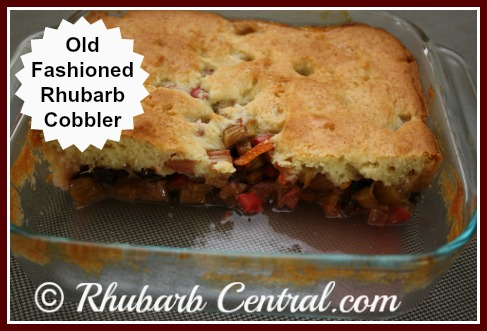 Rhubarb Dessert Recipe