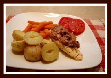 Rhubarb Salsa Recipe for a Fish Dinner / Tilapia Fish and Rhubarb Sauce