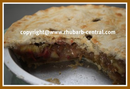 Rhubarb Pie Recipes Rhubarb Banana Pie