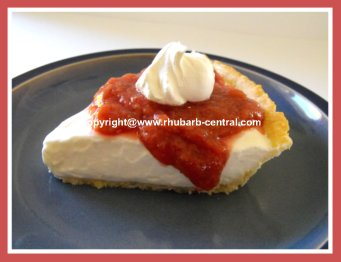 Rhubarb Cheesecake Recipes