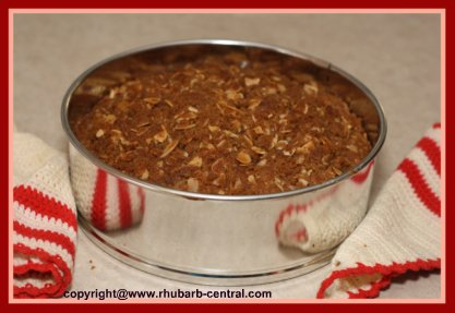 Make Rhubarb Coffee Cake Streusel Coffee Cake