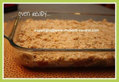Rhubarb Mandarin Oranges Crisp Recipe