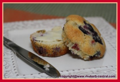 Best Blueberry Muffins Recipe Image