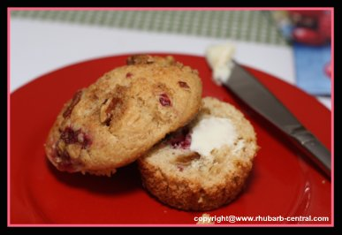 Rhubarb Muffins recipe with pictures