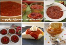 Rhubarb Sauce / Compote / Topping Recipes