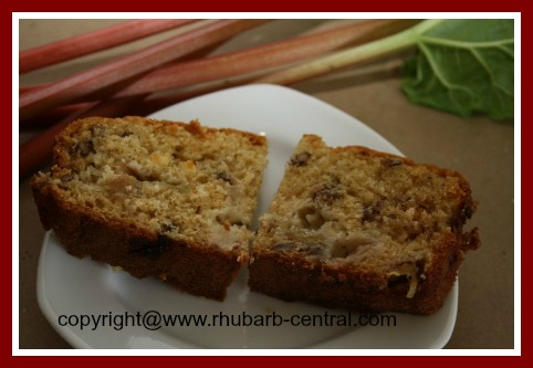 Best Rhubarb Bread Recipe