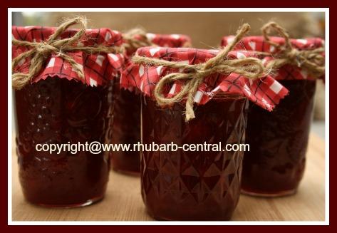 Best Homemade Rhubarb Jam Made Using Strawberries and Pineapple, Gelatin /Jello