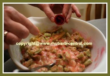 Red Rhubarb How to have Redder Rhubarb