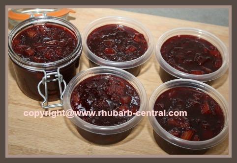 Easiest Rhubarb Freezer Jam