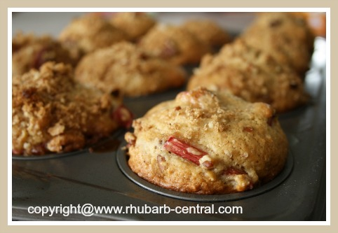 Fresh Rhubarb Recipe for Muffins