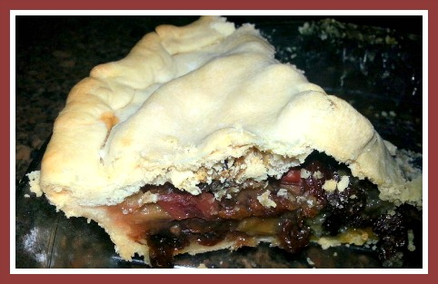 Mother's Rhubarb Raisin Pie Recipe