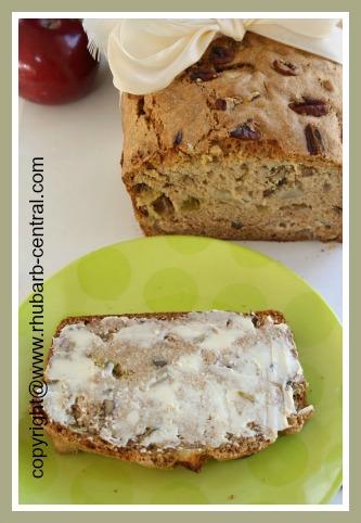 Healthy Rhubarb Homemade Bread Recipe