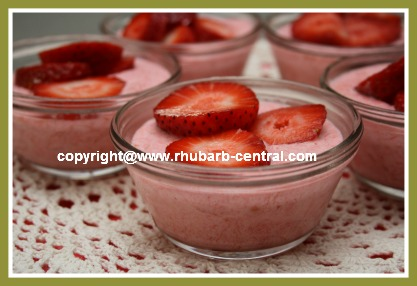 Homemade Rhubarb Dessert Easiest