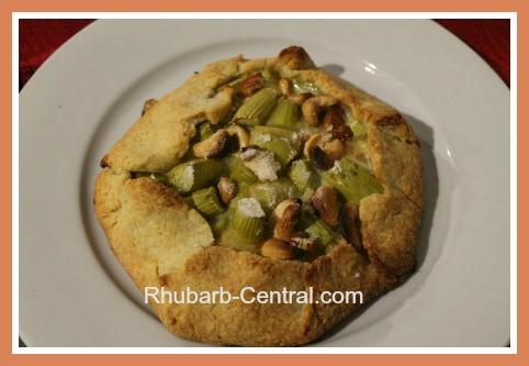 Homemade Rhubarb Tart Recipe