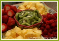 New Year's Eve Fruit Tray