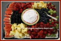 Fruit Tray for Crowd New Year's