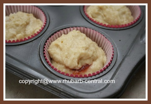 How to Make Muffins with Jam Centers