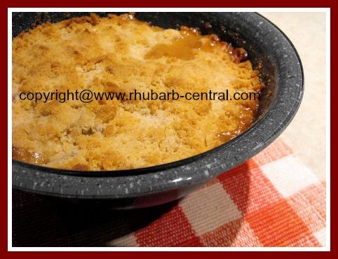 Rhubarb Apple Crisp Recipe
