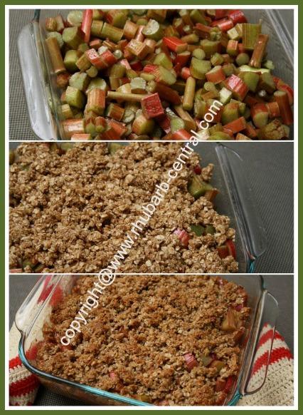 How to Make Rhubarb Crisp Dessert