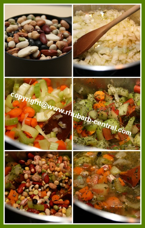 How to Make Rhubarb Vegetable Soup at Home