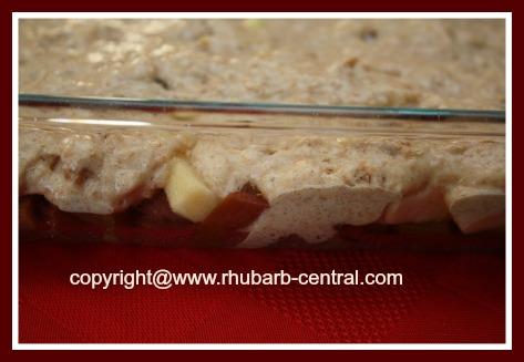 Make Healthy Rhubarb Dessert Cobbler