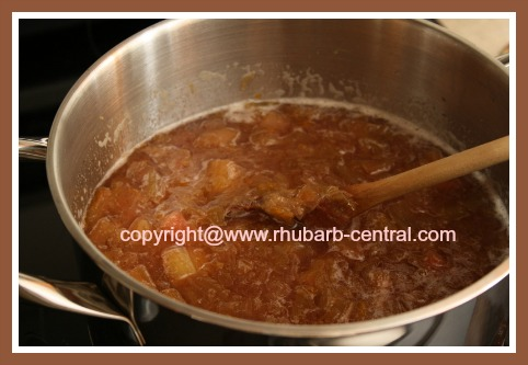 How to Make Rhubarb Jam for Freezer or Fridge