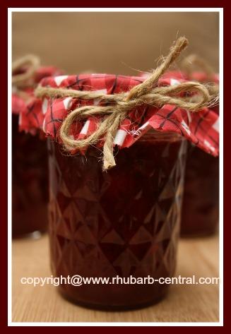 No Cook Rhubarb Strawberry Jam