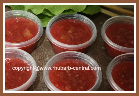 Picture of Homemade Rhubarb Jam 6 cups