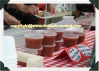 Picture of Rhubarb Sauce for Sale