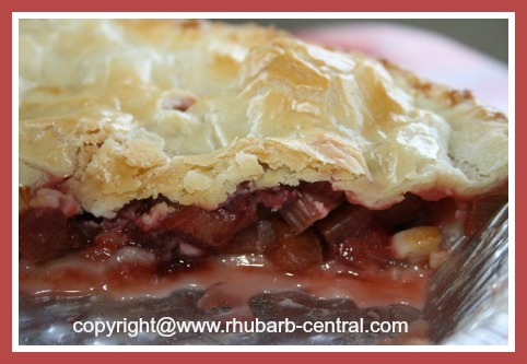 Pie Recipe Using Frozen Rhubarb and Strawberries