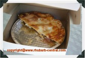 Picture of Rhubarb Pie we bought at Sheddon Festival