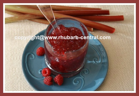 Raspberry Rhubarb Jam Image