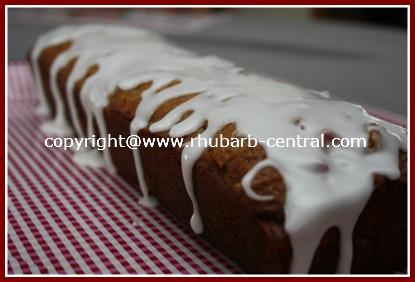Rhubarb Pecan Loaf