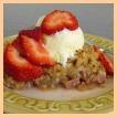 rhubarb crisp picture
