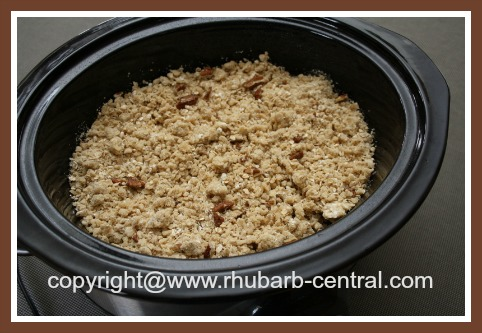 Rhubarb Crockpot Slow Cooker Recipe