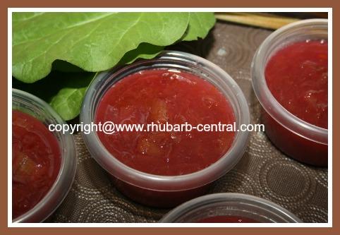Rhubarb Freezer Jam Recipe Plain Rhubarb Jam