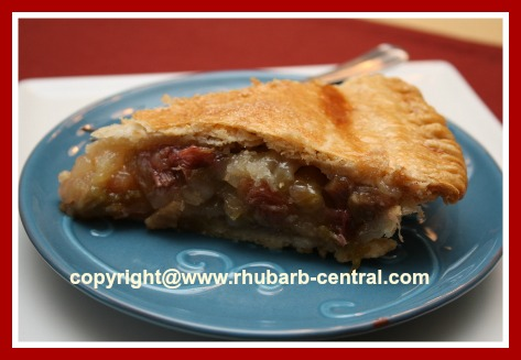 Rhubarb Pineapple Pie Recipe