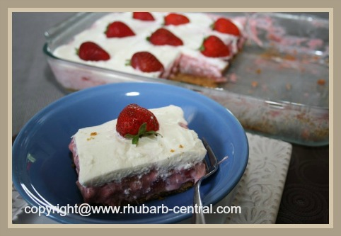 Fresh Rhubarb Dessert Recipe