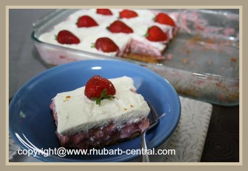 Fresh Rhubarb Dessert Recipe