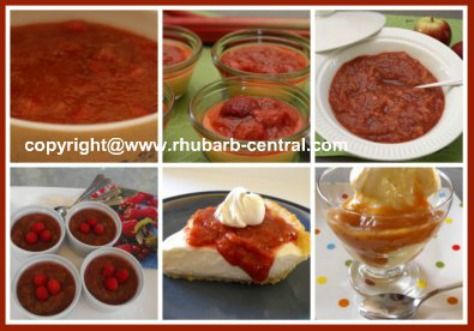 Pictures of Rhubarb Sauce Recipes