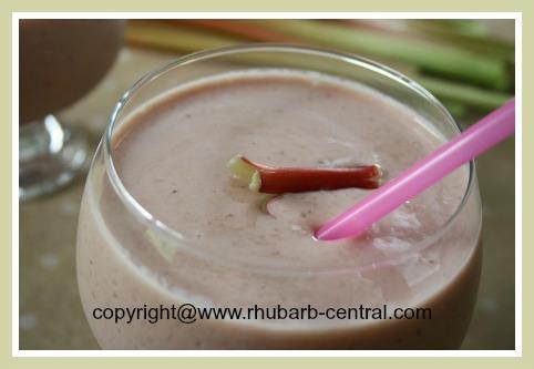 Rhubarb Shake Recipe