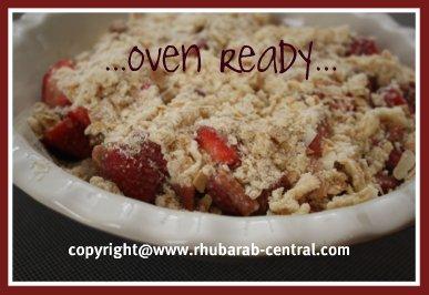 Rhubarb Strawberry Dessert Recipe