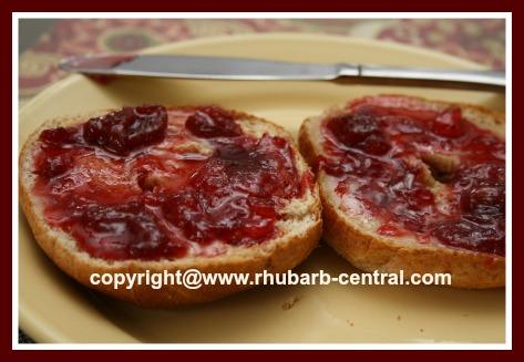 Rhubarb Strawberry Pineapple Jam
