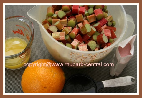 What you Need to Make Rhubarb Freezer Jam