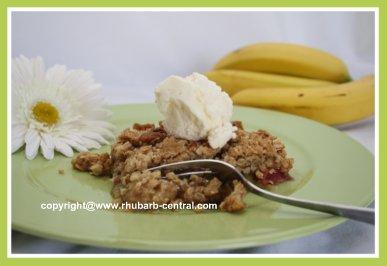 Picture of Rhubarb Dessert Recipe Crumble