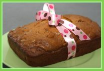 Rhubarb Nut Bread Make for Easter Spring Recipe with Rhubarb